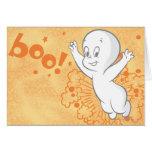 Casper Boo Orange Card