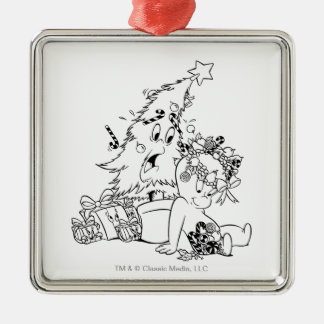 Casper Christmas Tree Christmas Ornament