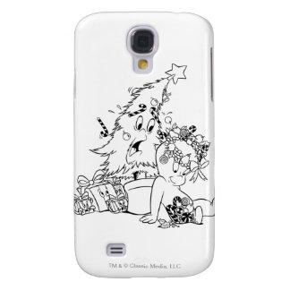 Casper Christmas Tree Galaxy S4 Case