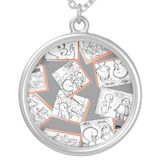 Casper Comics Round Pendant Necklace