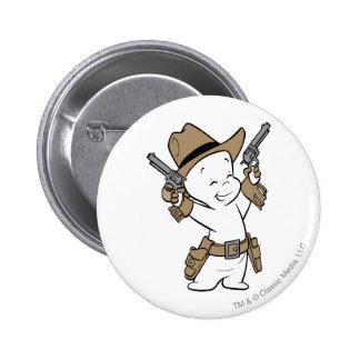 Casper Cowboy 6 Cm Round Badge