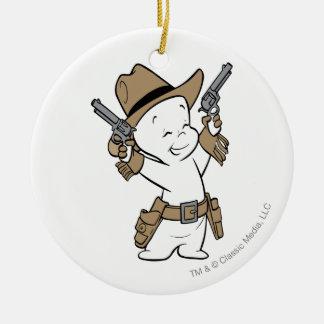 Casper Cowboy Christmas Ornament