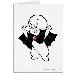 Casper Dracula Costume Card