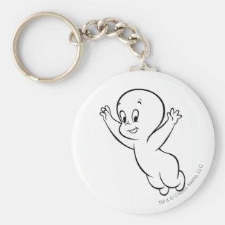Casper Flying Pose 1 Key Ring