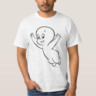 Casper Flying Pose 1 Tee Shirts