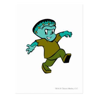 Casper Frankenstein Postcard