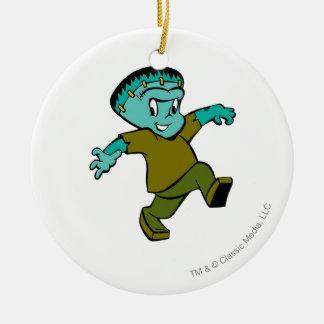 Casper Frankenstein Round Ceramic Decoration