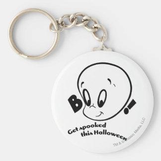 Casper Halloween Spooked Basic Round Button Key Ring
