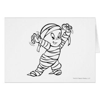 Casper in Mummy Costume 2 Card