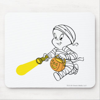 Casper in Mummy Costume Mouse Pad