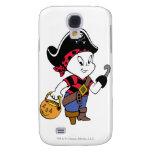 Casper in Pirate Costume Samsung Galaxy S4 Case