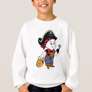 Casper in Pirate Costume Sweatshirt