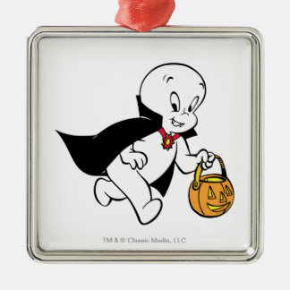 Casper in Vampire Costume Christmas Ornament