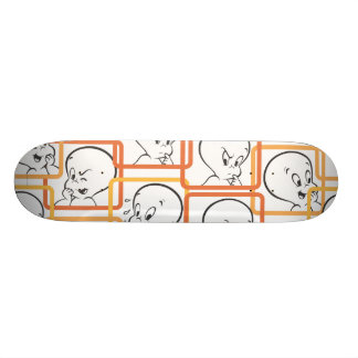 Casper Orange Squares 19.7 Cm Skateboard Deck