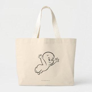 Casper PFlying Pose 4 Large Tote Bag