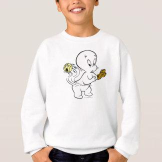 Casper Playing Baseball Sweatshirt
