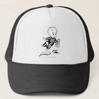 Casper Skeleton Costume Trucker Hat
