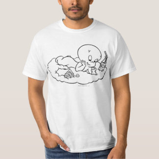 Casper Snacking on Cloud T-Shirt