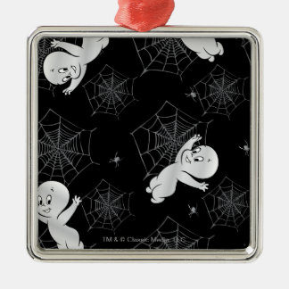 Casper Spider and Webs Pattern Christmas Ornament