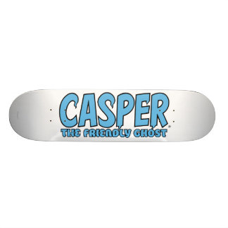 Casper the Friendly Ghost Blue Logo 1 Skate Board Decks