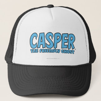 Casper the Friendly Ghost Blue Logo 1 Trucker Hat