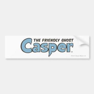 Casper the Friendly Ghost Blue Logo 2 Bumper Sticker