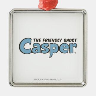 Casper the Friendly Ghost Blue Logo 2 Christmas Ornament