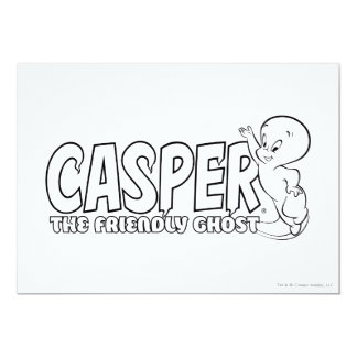 Casper the Friendly Ghost Logo 2 Card