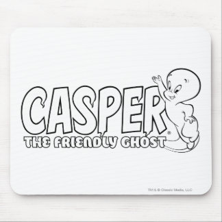 Casper the Friendly Ghost Logo 2 Mouse Mat