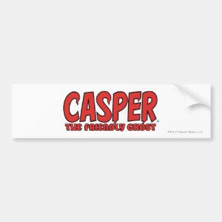 Casper the Friendly Ghost Red Logo 1 Bumper Sticker