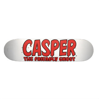 Casper the Friendly Ghost Red Logo 1 Skate Board