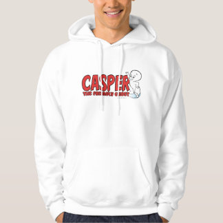 Casper the Friendly Ghost Red Logo 2 Hoodie