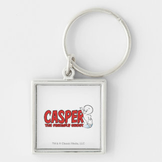 Casper the Friendly Ghost Red Logo 2 Key Ring