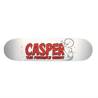 Casper the Friendly Ghost Red Logo 2 Skateboard Decks