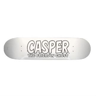 Casper the Friendly Ghost White Logo Skate Deck