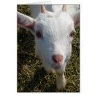 Casper the Friendly Goat Card