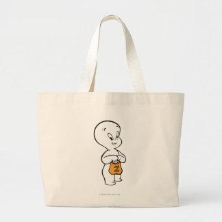Casper Trick or Treat Large Tote Bag