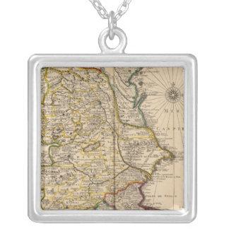 Caspian Sea Region Silver Plated Necklace