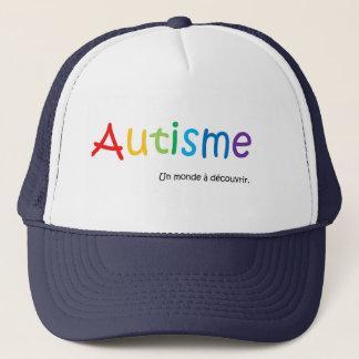 Casquette Autisme un monde à découvrir Trucker Hat