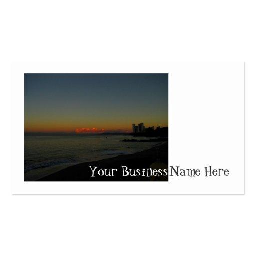 CASR Cityscape at Sunrise Business Cards