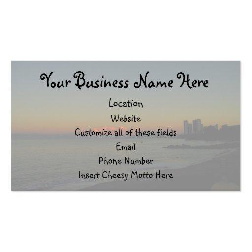 CASR Cityscape at Sunrise Business Card