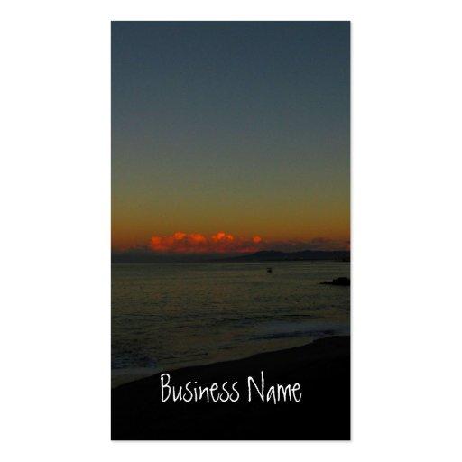 CASR Cityscape at Sunrise Business Card Templates