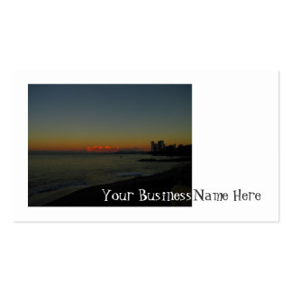 CASR Cityscape at Sunrise Pack Of Standard Business Cards