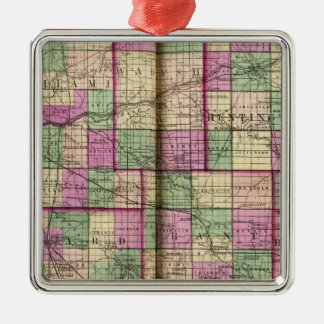 Cass County and Miami County Christmas Ornament