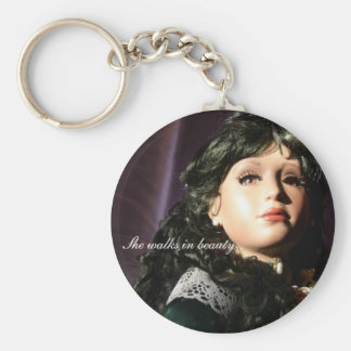 Cassandra at sunset key ring