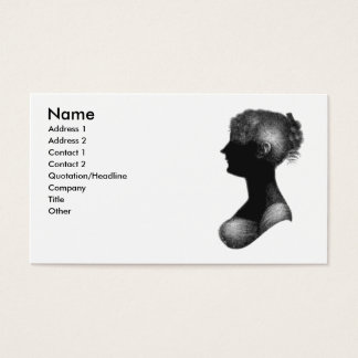 Cassandra Austen business card