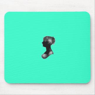 Cassandra Austen s Silhouette Mouse Pad