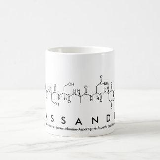 Cassandra peptide name mug
