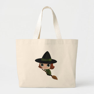 Cassandra the Witch Large Tote Bag