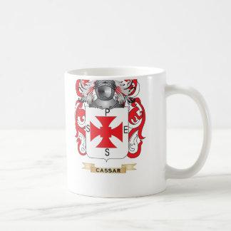 Cassar Coat of Arms Family Crest Mugs